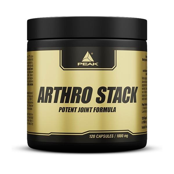 Arthro Stack de 120 cápsulas de Peak (Formulas Mejoras Articulares)