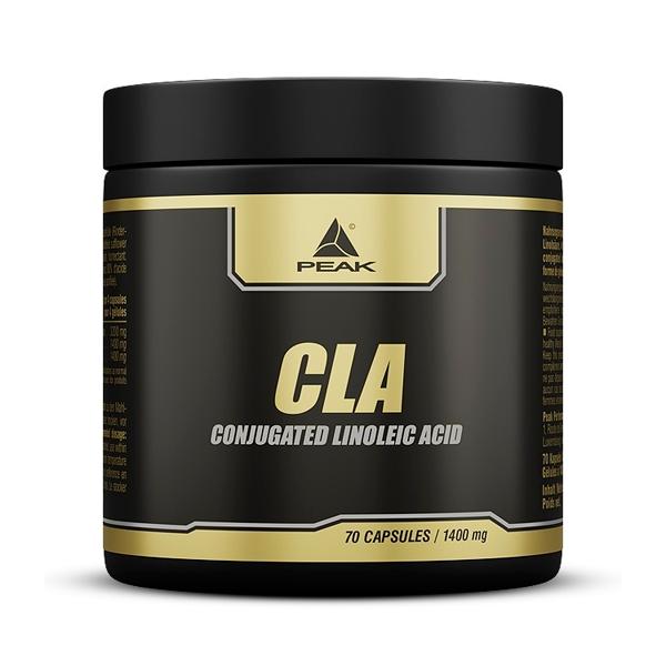 CLA envase de 70 cápsulas de la marca Peak