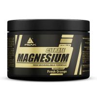 Citrato de Magnesio envase de 240g del fabricante Peak (Vitaminas y Minerales)