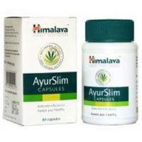 AyurSlim envase de 60 cápsulas del fabricante Himalaya Herbal Healthcare (Inhibidores de Apetito)