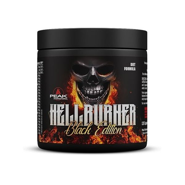 Hellburner Black Edition de 120 cápsulas del fabricante Peak (Quemadores)