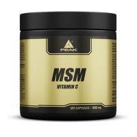 MSM de vitamina c de la marca Peak (MSM Metilsulfonilmetano)