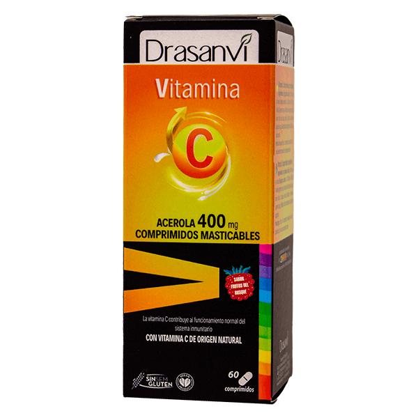 Vitamina C 400mg de acerola de Drasanvi