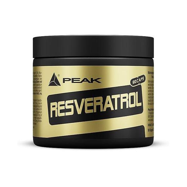 Resveratrol de 90 cápsulas del fabricante Peak (Antioxidantes)