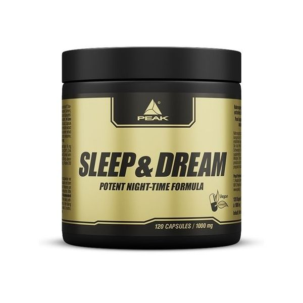 Sleep Dream de 120 cápsulas de Peak (Mejora del sueño)
