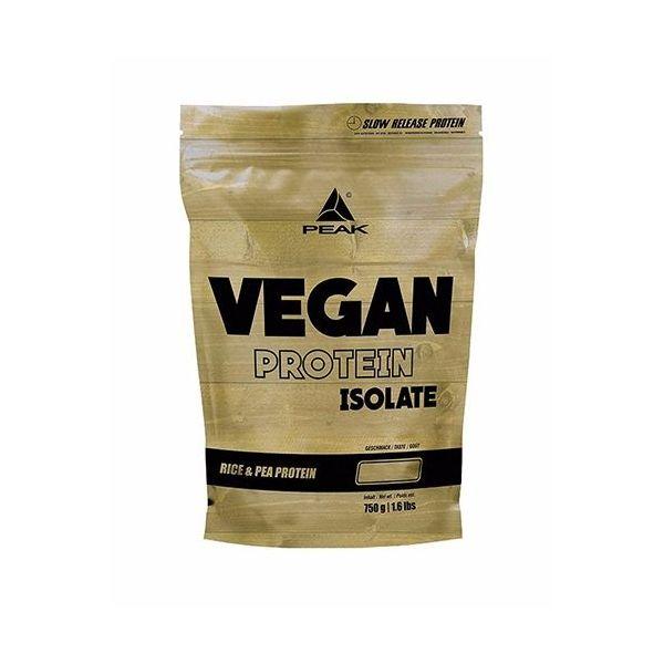 Vegan Protein Isolate de 750 gr del fabricante Peak (Proteína Vegetal y Veganos)