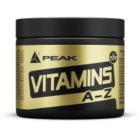 Vitaminas A-Z envase de 180 cápsulas de la marca Peak