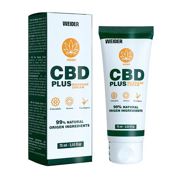 CBD Plus Crema de Masaje de Weider