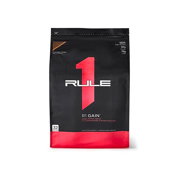 R1 Gain envase de 4.5 kg de la marca Rule1 (Ganadores de Peso con proteína)