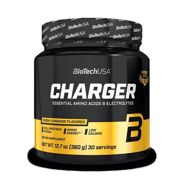Ulisses Charger envase de 360g del fabricante Biotech USA (Otros Aminoácidos)