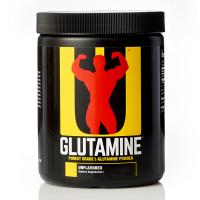 Glutamina en Polvo envase de 600g del fabricante Universal Nutrition