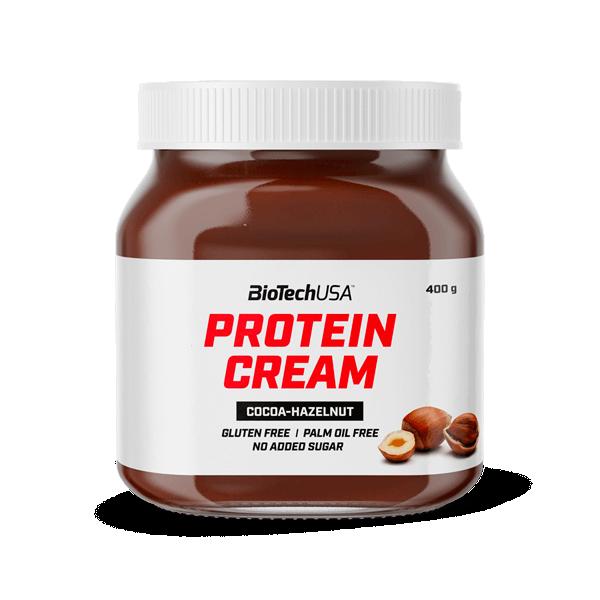 Protein Cream de 400g del fabricante Biotech USA (Cremas de Chocolate Bajas en Calorias)