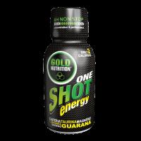 One Shot Energy envase de 60 ml del fabricante GoldNutrition (Pre-Entrenamiento)