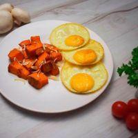 Sweet potato with free range eggs xl - ManaFoods