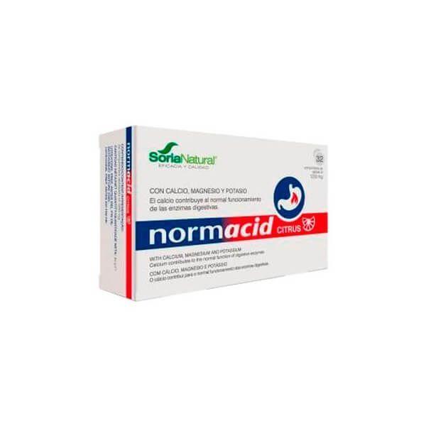 Normacid citrus - 32 comprimidos- Soria Natural Soria Natural - 1