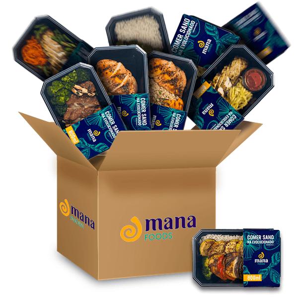 Pack Familiar Yomequedoencasa del fabricante ManaFoods (Alimentos Frescos ManaFoods)