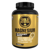 Magnesio - 60 Cápsulas GoldNutrition - 1