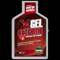 Extreme Gel con Taurina de 40 g de la marca GoldNutrition (Geles Energéticos)