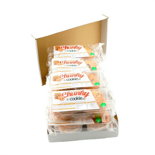 Galletas Protein Chunky de 100g de la marca MTX Nutrition (Galletas Proteicas  Bajas en Calorias)