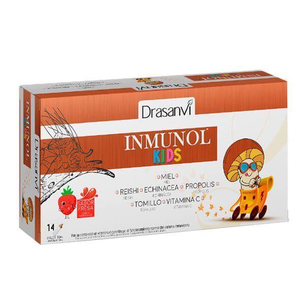 Inmunol Kids envase de 14 viales de Drasanvi (Sistema Inmunológico)