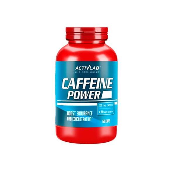 Cafeína Power de 60 cápsulas del fabricante Activlab (Otros Quemadores)