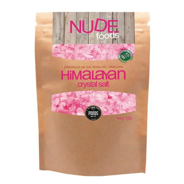 Sal Rosa del Himalaya envase de 400g de la marca MTX Nutrition (Aderezos y Sazonadores bajos en Sodio)
