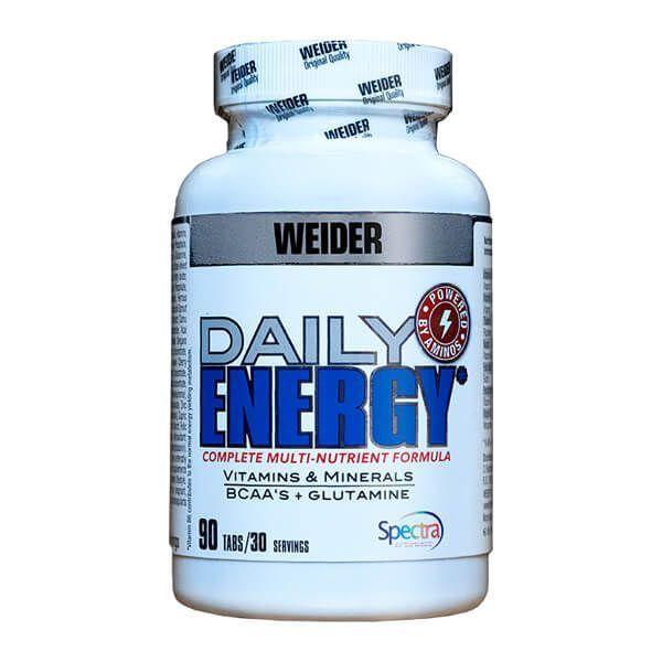 Daily Energy de 90 tabletas del fabricante Weider (Complejos Multivitaminicos)