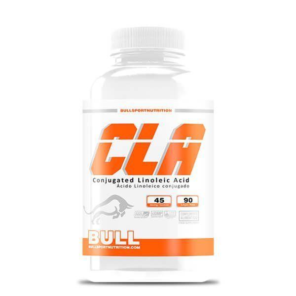 CLA envase de 90 cápsulas de Bull Sport Nutrition