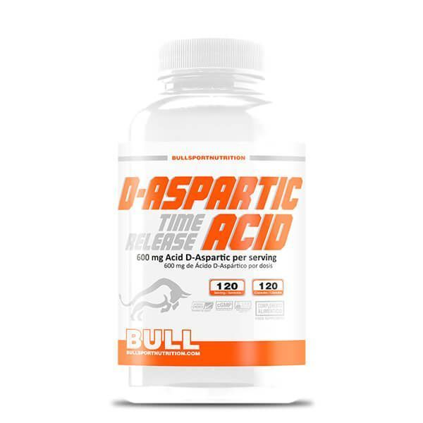 Ácido D envase de aspártico de la marca Bull Sport Nutrition (Otros Anabolicos)