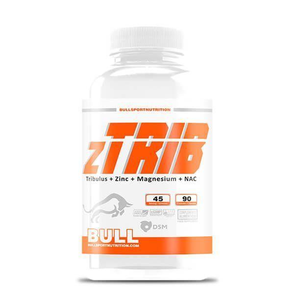 zTRIB de 90 cápsulas de la marca Bull Sport Nutrition (Tribulus)