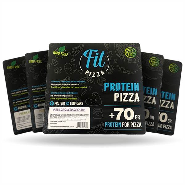 Pack 5 protein fit pizza Fitness Burger - 1