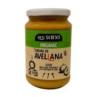 Crema de Avellanas Ecológica de 350g de la marca EcoSana (Cremas de otros Frutos Secos)