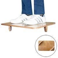 Tabla de Equilibrio de Madera con Semicirculos de Softee