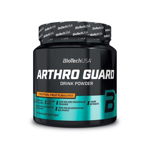 Arthro Guard de 340g del fabricante Biotech USA (Formulas Mejoras Articulares)