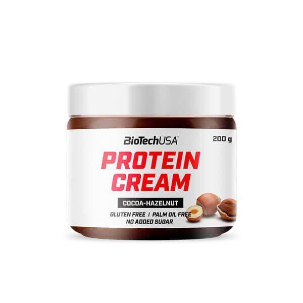 Protein Cream envase de 200g de la marca Biotech USA (Cremas de Untar)