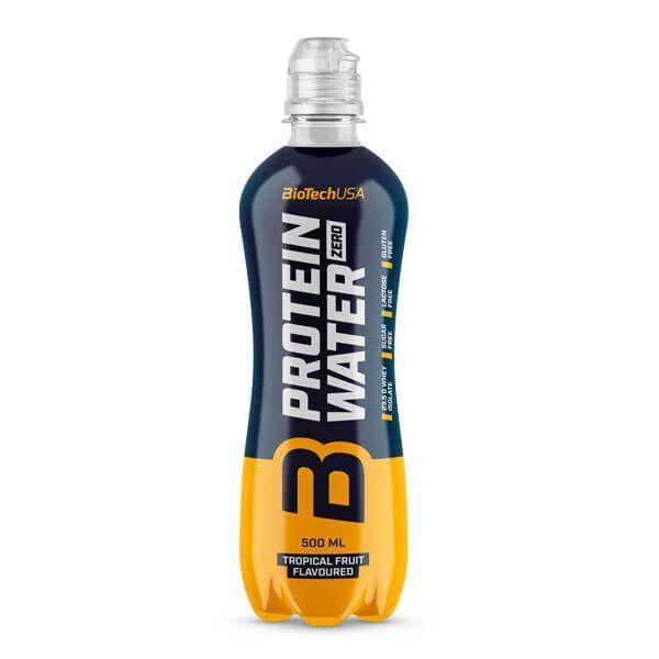 Protein Water Zero envase de 500ml de Biotech USA (Bebidas Proteicas)