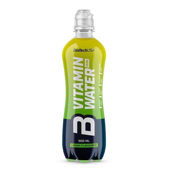 Vitamin Water Zero envase de 500ml de Biotech USA (Complejos Multivitaminicos)
