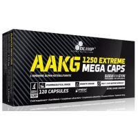 AAKG 1250 Extreme de 120 mega cápsulas de la marca Olimp Sport (Arginina)