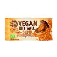 Barrita Vegan Bio Ball Bomb envase de 30g del fabricante GoldNutrition (Dulces y galletas)