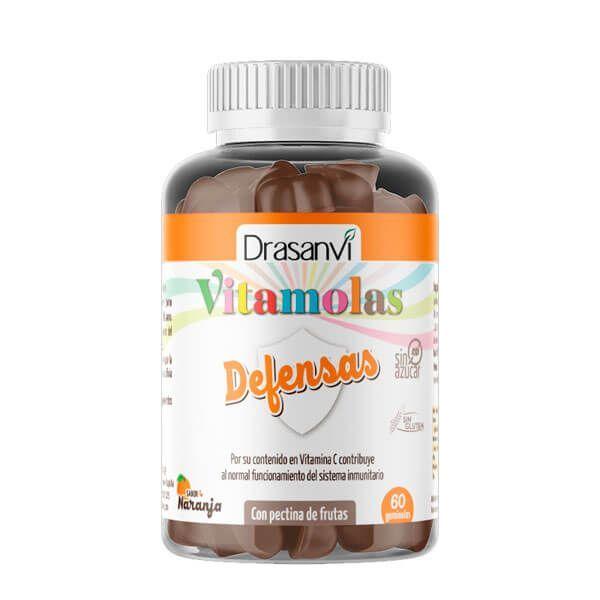 Vitamolas Defensas de 60 gominolas de Drasanvi (Complejos Multivitaminicos)