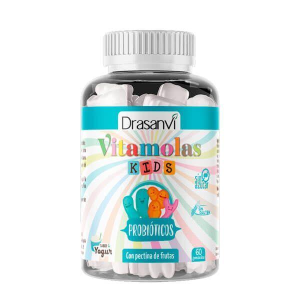 Vitamolas Probióticos Niños envase de 60 gominolas del fabricante Drasanvi (Probioticos)
