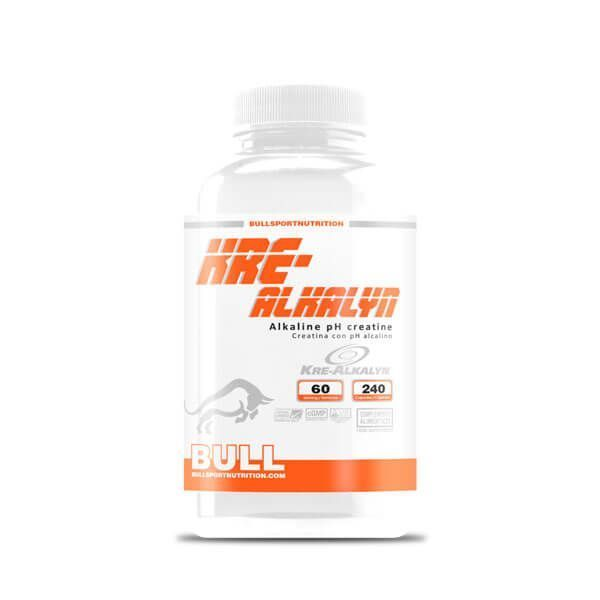 Kre-Alkalyn de 240 cápsulas de la marca Bull Sport Nutrition