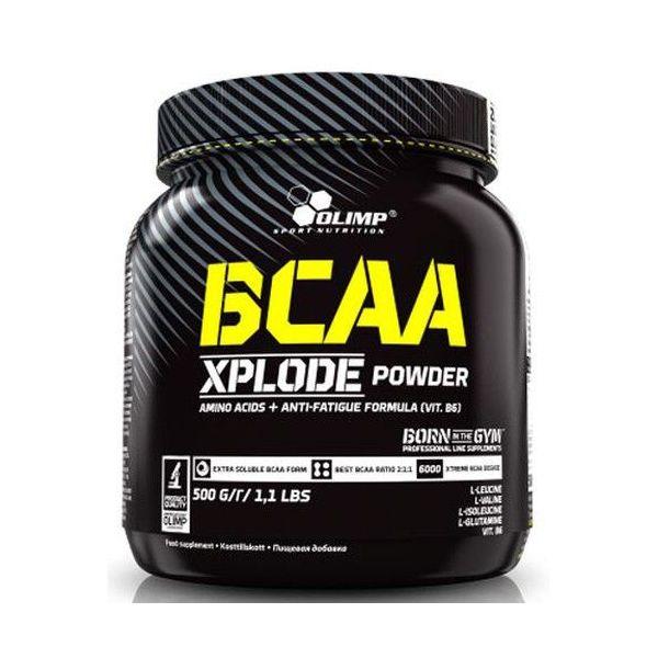 BCAA Xplode envase de 500 g de la marca Olimp Sport (BCAA Ramificados)