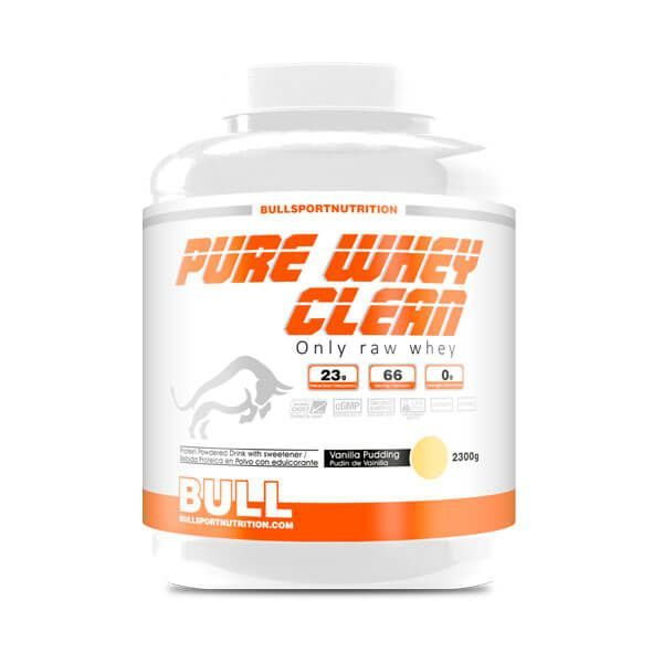 Pure whey clean - 2.3 kg Bull Sport Nutrition - 4
