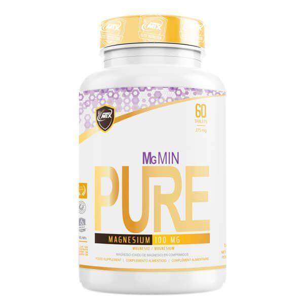 MgMIN de 60 tabletas del fabricante MTX Nutrition (Magnesio)