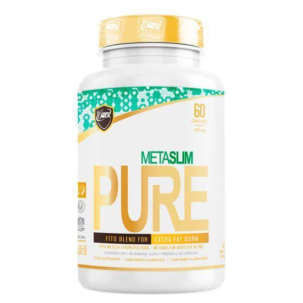 MetaSlim de 60 cápsulas del fabricante MTX Nutrition (Quemadores)
