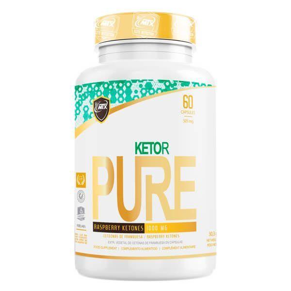 Ketor de 60 cápsulas de la marca MTX Nutrition (Quemadores)