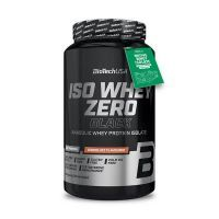 Iso Whey Zero Black de 908g del fabricante Biotech USA (Proteína de Aislado de Suero Isolate)