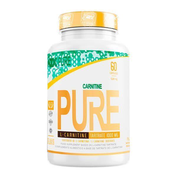 L-Carnitina 1000mg de 60 cápsulas del fabricante MTX Nutrition