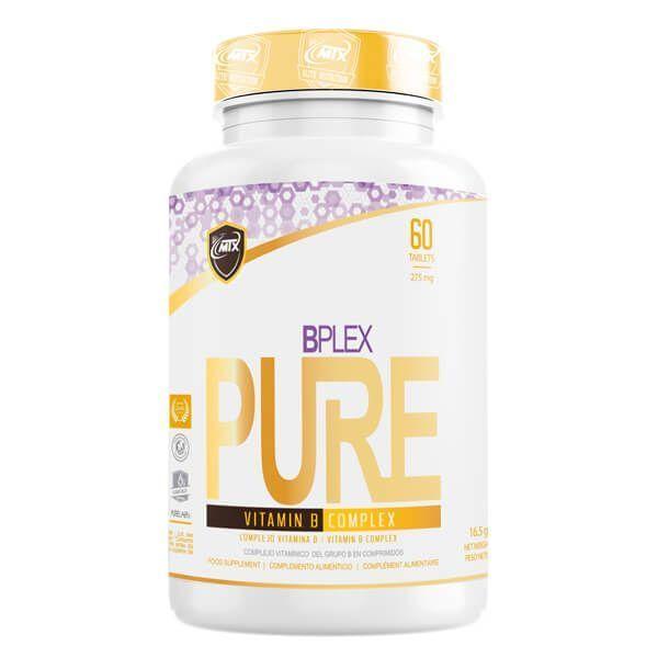 Bplex de 60 tabletas del fabricante MTX Nutrition (Vitamina B)